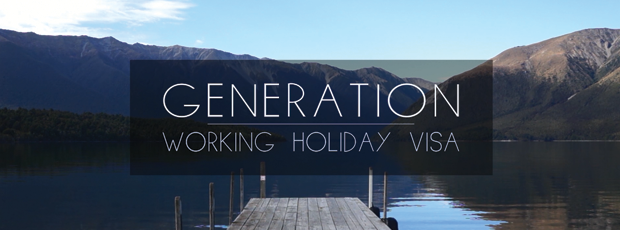 Generation Working Holiday Visa web documentary poster